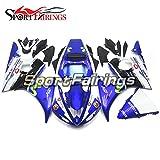 Sportfairings Complete Fairing Kit For Yamaha YZF R6 2005 Year 05 Bodywork Blue Green Sportbike Cowls