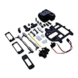 TOP SPEED RC WORLD Steering System With Plastic Battery Case Set For Hpi Baja 5B 5T 5SC