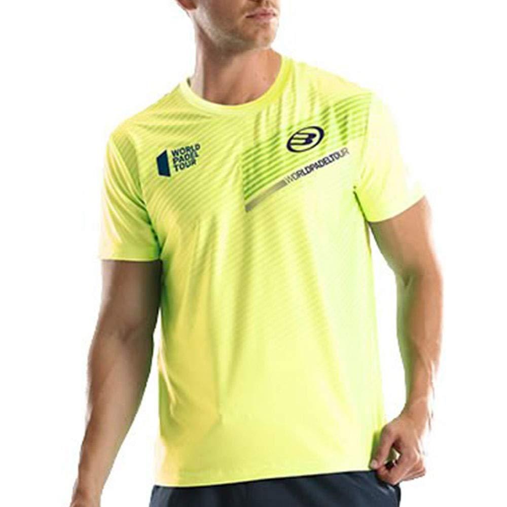 Bullpadel Camiseta TEFILO Amarillo: Amazon.es: Deportes y aire libre
