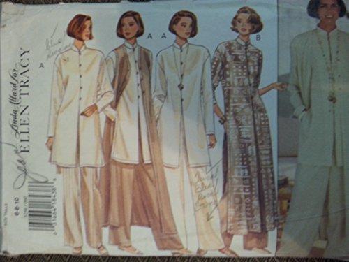 Butterick 3256 Misses Petite Vest, Tunic & Pants by Ellen Tracy Sizes 6-8-10