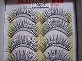 MODEL 21 False fake No. 7,8 or 9, 16, 16A, 19, 19A, 28 OR 28A Eyelashes 10 Pairs