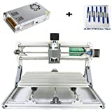 DIY CNC Router Engraving Kit, Working Area 30x18x4.5cm, DIY CNC Router Milling Machine 3 Axis Mini Wood PCB Acrylic Metal Engraving Carving Machine