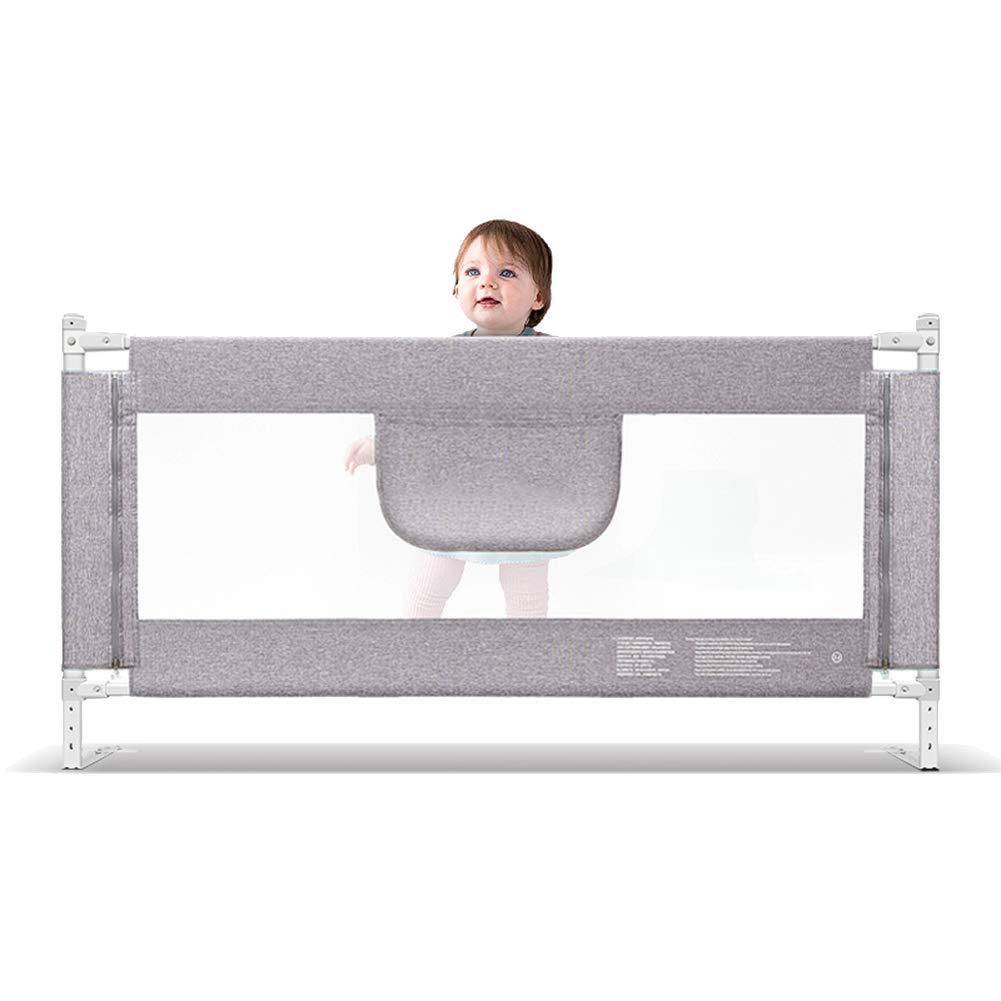 余分な高さベッドのレールベッドガード幼児の安全チャイルドベッドガードベビー折りたたみメッシュレール、大180-200センチメートル、灰色、高さ90cm (サイズ さいず : 200cm) 200cm  B07L6CBZYB