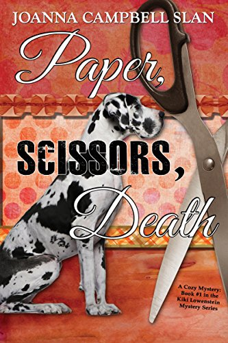 Paper, Scissors, Death by Joanna Campbell Slan ebook deal