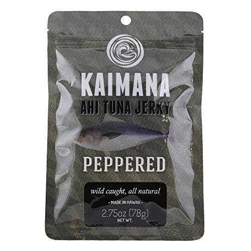 Kaimana Tuna Jerky Peppered 2 75 product image