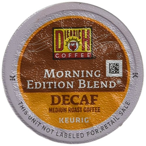 Diedrich Coffee K-Cup for Keurig Brewers, Atmosphere Roast, Decaf, Morning Edition Blend (Pack of 96)