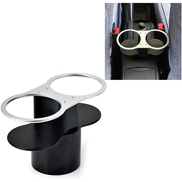 1x Car Cup Holder Can holder Valet Travel Coffee Bottle Holder Table Food Stand