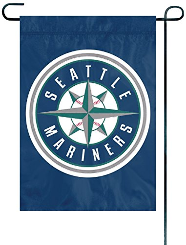 Seattle Mariners Hanging (Party Animal MLB Seattle Mariners Garden Flag)