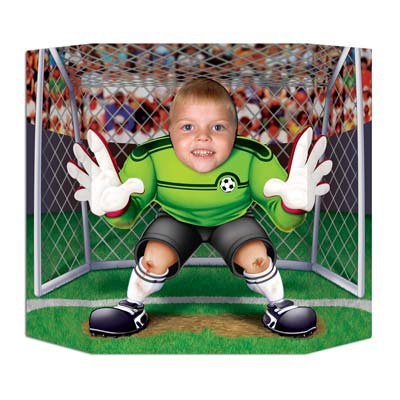 Beistle Soccer Photo Prop, 3-Feet 1-Inch by 25-Inch (Halloween Photo Op Cutouts)