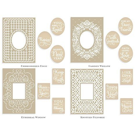 Griffin Embroidery - Anna Griffin Mix & Match Emboss Folders- EMBROIDERY