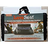 Lava Seat Heatable Reusable Cushion Stay Warm for Hours - Sherpa Edition Microwave Sporting Events Camping Fishing Arctic Zone