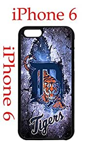 Detroit Tigers iPhone 6 Plus 5.5 Case Hard Silicone Case by Maris's Diary