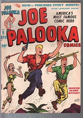 Joe Palooka #9 1947-Harvey-Ham Fisher-Bob Powell Flyin' Fool story-FN+