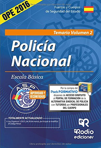 Policía Nacional. Temario. Volumen 2 (Volume 2) (Spanish Edition) pdf