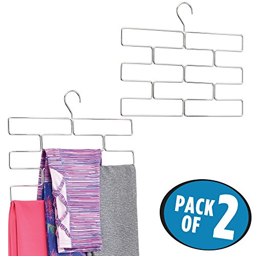 Cheap  mDesign Modern Metal Closet Rod Hanging Accessory Storage Organizer Rack for Scarves,..