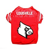 Pet Goods NCAA Louisville Cardinals Collegiate Pet Jersey, Large