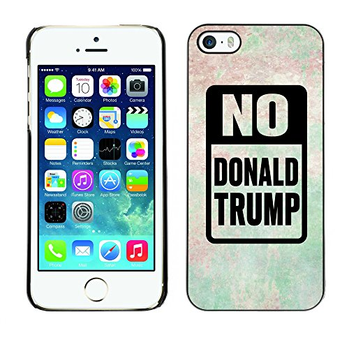 Print Motif Coque de protection Case Cover // Q04150562 Stop Trump crease cloud // Apple iPhone 5 5S 5G