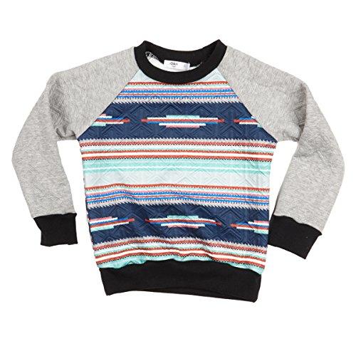 Joah Love Big Boys' Gordon Quilted Sweatshirt, 2 by Joah Love