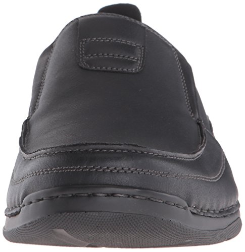 Izod Mens Forman Slip-on Loafer Svart