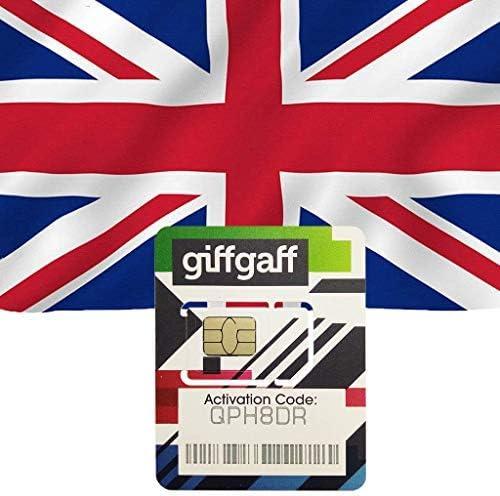 Amazon.com: Giffgaff UK - Tarjeta SIM prepagada