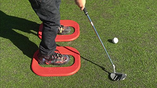 (STAND PERFECT JR. - Eliminate Stepping in the Bucket.Youth Baseball Tee Ball trainer Stand Perfect Junior Kids Baseball Golf Stance, Golf Practice, Golf Swing, Baseball Swing Trainer, Stance Trainer,)