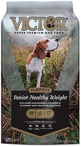 Dog Food: VICTOR Purpose Senior Healthy Weight