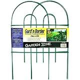 Origin Point 042410 Gard'n Border Round Folding Fence, Green, 24-Inch x 10-Feet