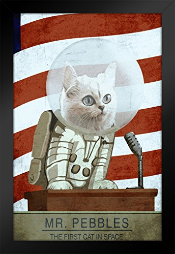 cat in space poster - 3