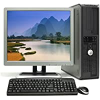 Dell Optiplex with 17 LCD(Brands may vary), Intel Pentium D 3.4GHz, New 2 GB Memory, DVD Burner, Windows 7 professional-(Certified Reconditioned) (Certified Refurbished)