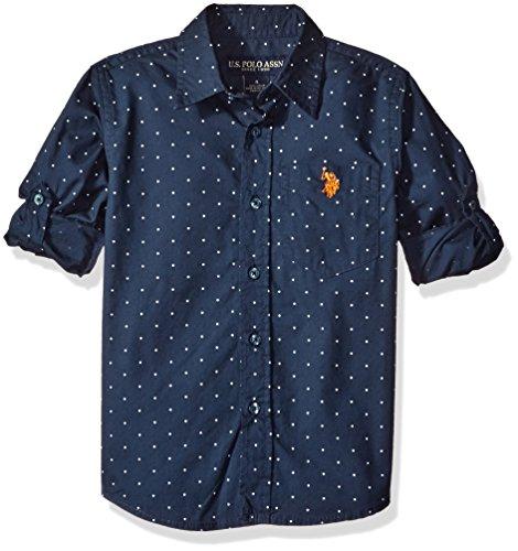 Navy Blue Boys Shirt - 2