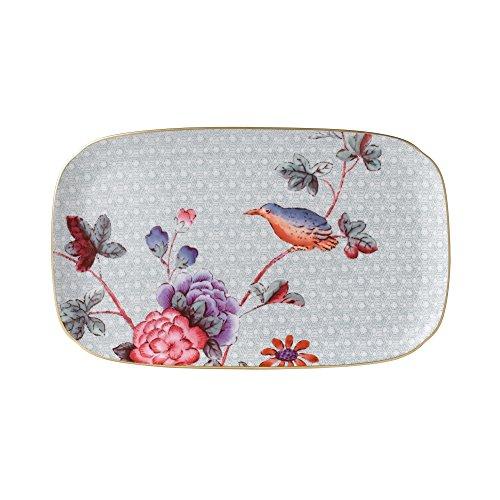 Japan China China Platter (Wedgwood Harlequin Cuckoo Tea Story 10-Inch by 6-Inch Sandwich Tray)