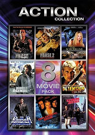 Amazon.com: Action Collection: Volume 1 - 8 Movie Pack (The ...