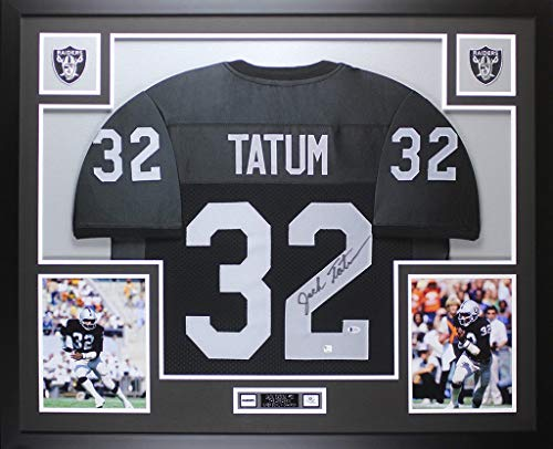 Jack Tatum Autographed Signed & Framed Black Raiders for sale  Delivered anywhere in USA