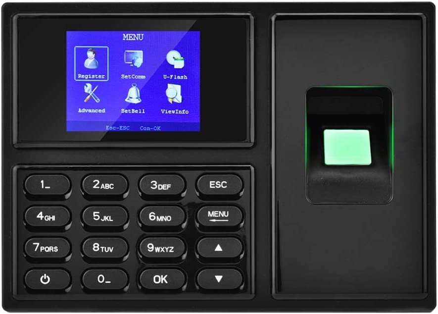 "Fingerprint Attendance Machine 2.4/"" TFT LCD Biometric fingerprint WCP"