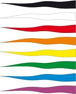Giallo streamer bandiera. Great to Fly da un palo telescopico bandiera
