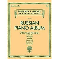 Russian Piano Album: Schirmer's Library of Musical Classics Vol. 2115