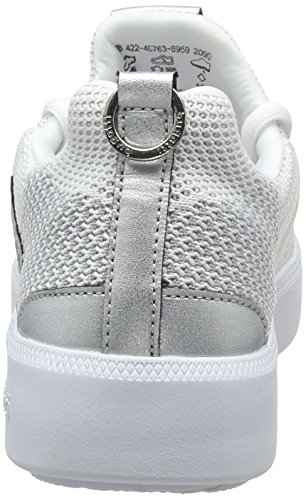 2090 white Sneaker Metallics on Donna Slip Bianco 422407636959 Bugatti x1wYqZ78