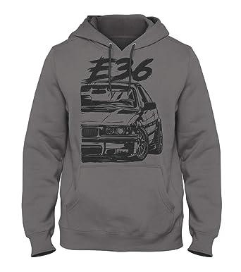 14 Mile Kult BMW E36 Herren Kapuzenpullover Kustom Design