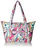 Vera Bradley Iconic Miller Travel Bag, Signature Cotton, Wildflower Paisley