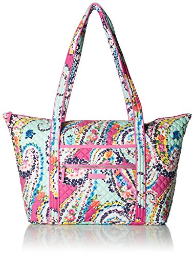 Vera Bradley Iconic Miller Travel Bag, Signature Cotton, Wildflower Paisley by Vera Bradley