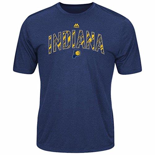 (Majestic NBA Men's Future Highlight Play Performance T-shirt (Medium, Indiana Pacers))