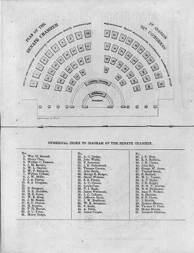 Amazoncom Photo Seating Chart For United States Senate
