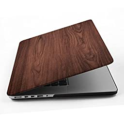 Macbook Pro 15 inch Case,iCasso Matte Soft Touch Plastic Hard Case Shell For Apple Laptop Macbook Pro 15 Inch with Retina Display (No CD-ROM) Model A1398 with keyboard cover-Brown