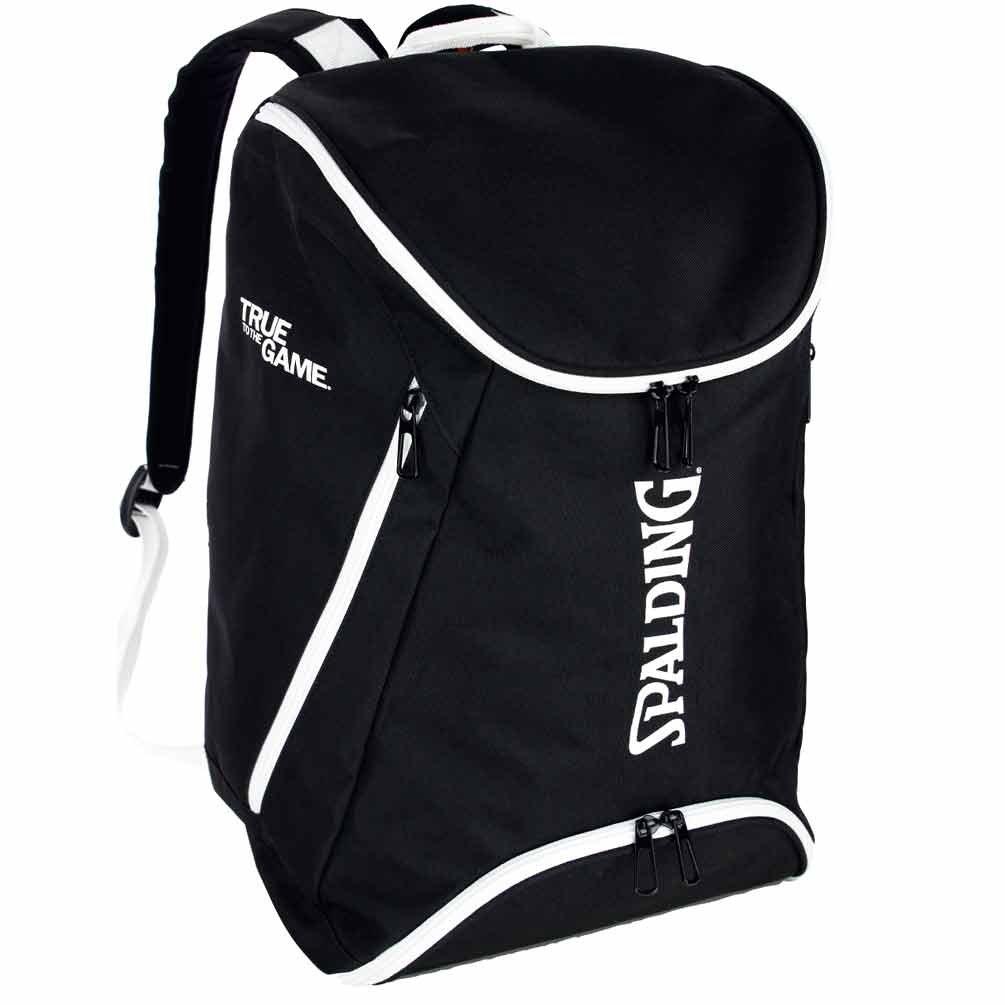 Ballon spalding sac à dos anthracite/noir avec inscription le ...
