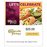 The Cheesecake Factory Let's Celebrate Gift Cards - E-mail Delivery