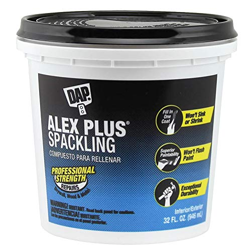 DAP INC 18746 Alex Plus Quart Spackling 32 oz White