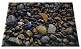 Ergomat IND-0203-11 Home Edition Anti-Fatigue Graphic Floor Mats, Colored Stone Deluxe, 2' x 3'