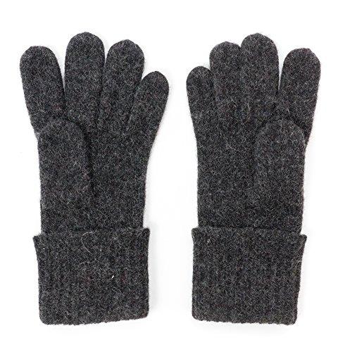 Dachstein Woolwear Wool Gloves, Size 8.0, Black
