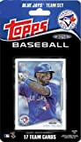 2014 Topps Toronto Blue Jays Factory Sealed Special Edition 17 Card Team Set with Jose Bautista Plus