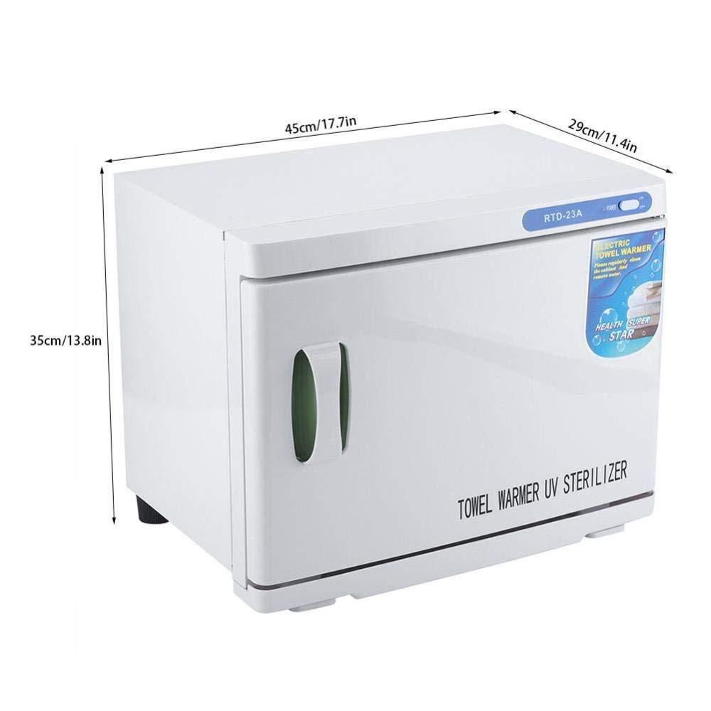 32L Esterilizador De Toallas 2 En 1 Armario Más Cálido Desinfeccion UV Calefacción Spa Desinfeccion Facial Salón Belleza Armario Calentador De Toallas Para ...